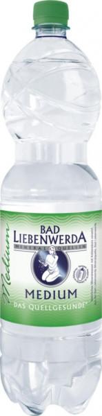 Mineralwasser, Medium (40 x 1.5 Liter)