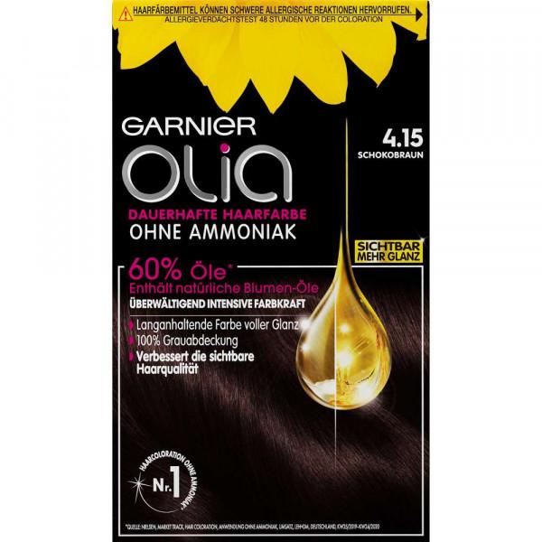 Olia Öl-Coloration, 4.15 Schokobraun