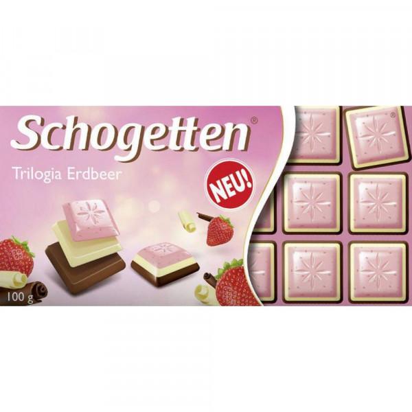 Tafelschokolade Schogetten, Trilogia Erdbeer