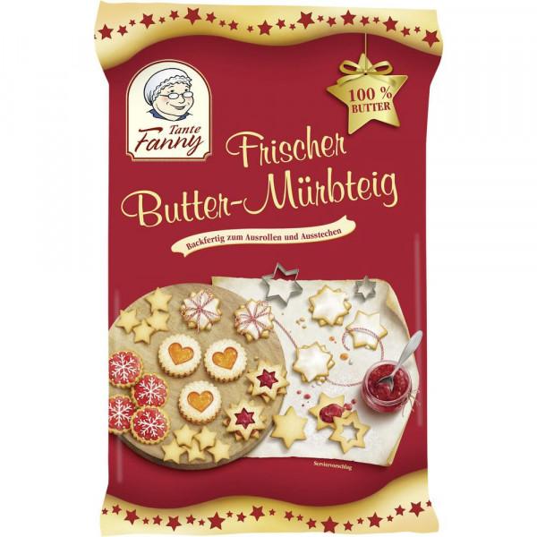 Frischer Butter Mürbeteig