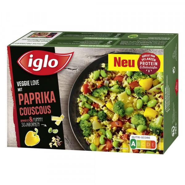 "Veggie Love ""Paprika Couscous"" tiefgekühlt"