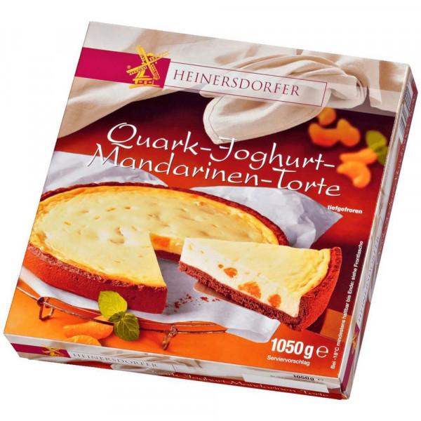Quark-Joghurt-Mandarinenkuchen, tiefgekühlt