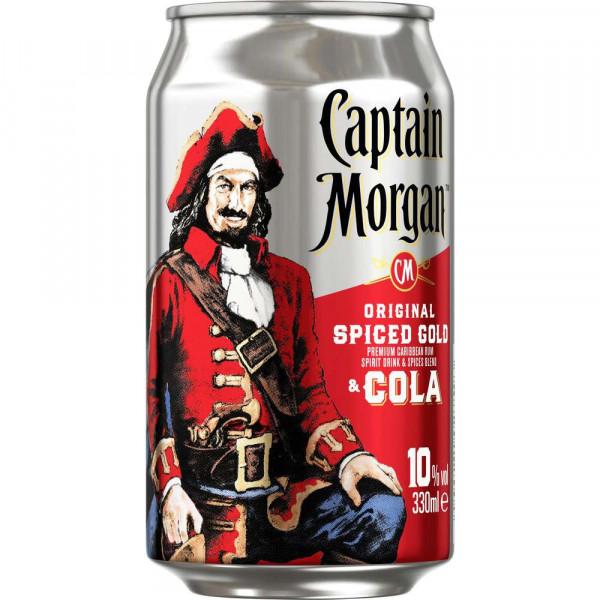 Captain & Cola 10%