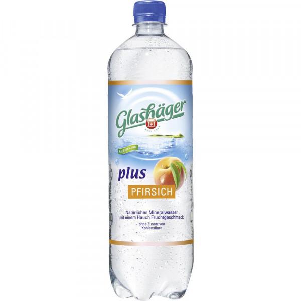 Plus Pfirsich Mineralwasser, Naturelle