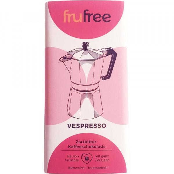 Vespresso, Zartbitter-Kaffeeschokolade