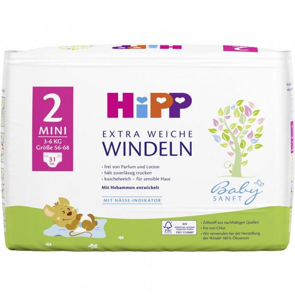 Babysanft Windeln Gr. 2 Mini, 3-6kg