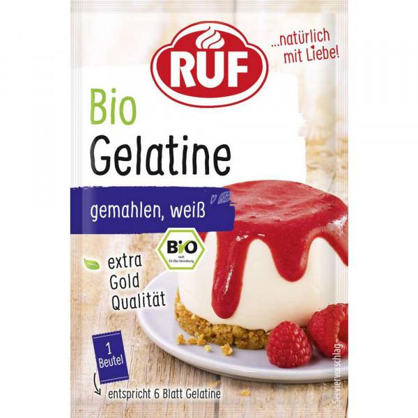 Bio Gelatine, gemahlen