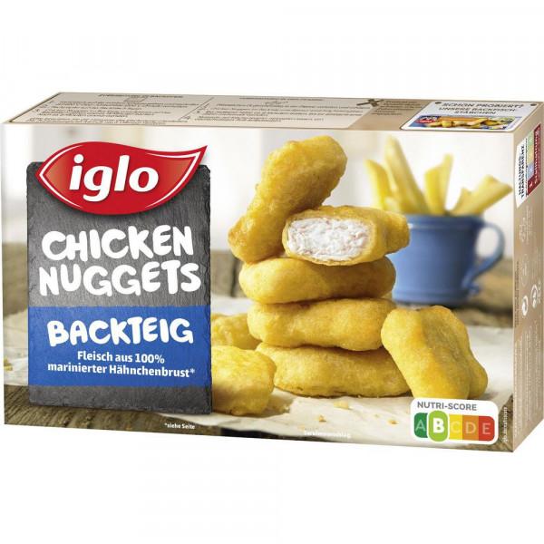 Chicken Nuggets im Backteig, tiefgekühlt