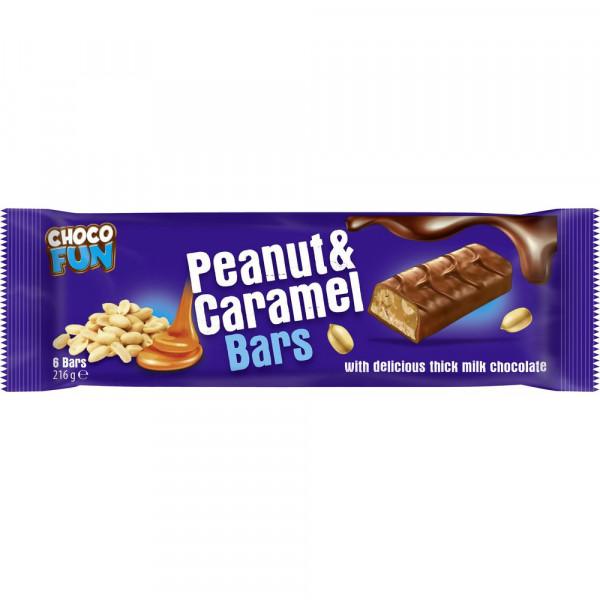 "Schoko Riegel ""Peanut & Caramel"""