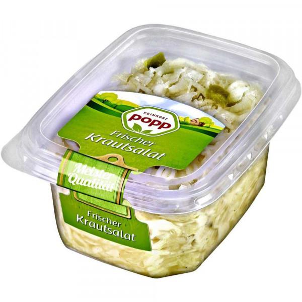 Frischer Weißkrautsalat