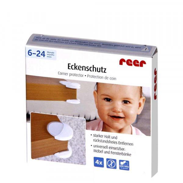 Eckenschutz, weiß/transparent