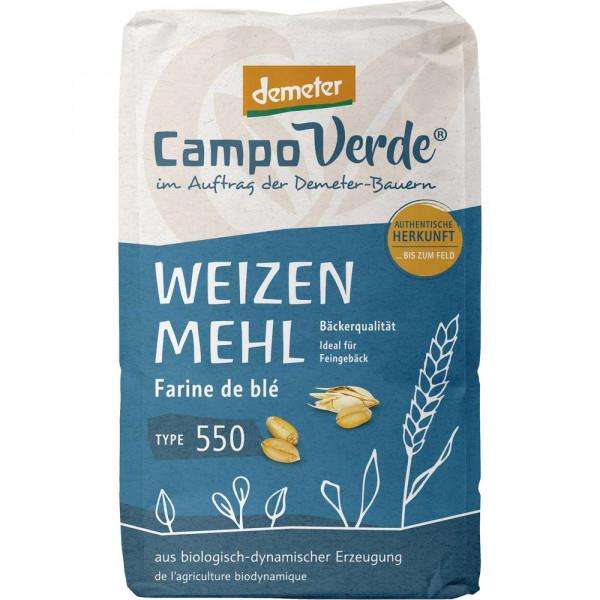 Bio Demeter Weizenmehl Type 550