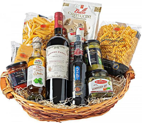 Präsentkorb italienische Produkte