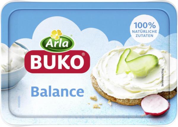 Buko Frischkäse, Balance