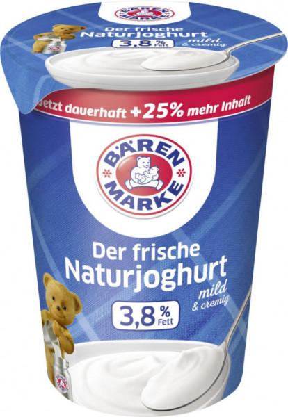 Naturjoghurt, 3,8% Fett