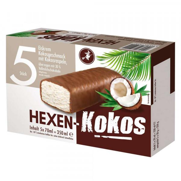 Eiscremeriegel, Kokos