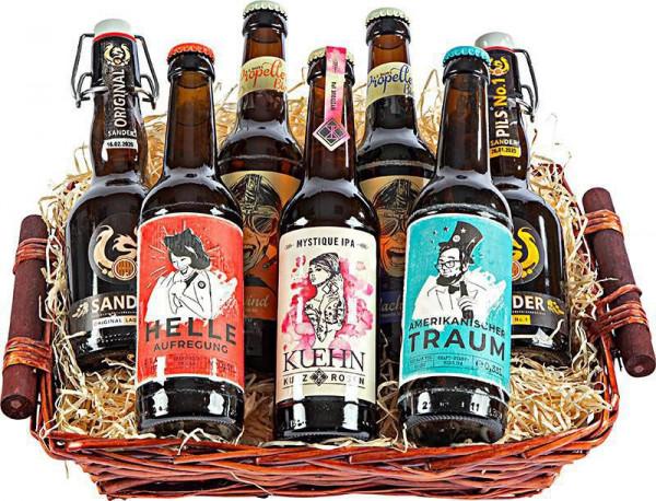 Präsentkorb Craft-Bier