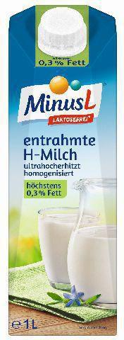 H-Milch 0,3%, laktosefrei