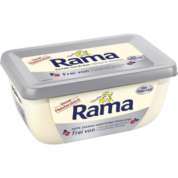 Margarine Unser Meisterstück, mit Meersalz, 80% Fett