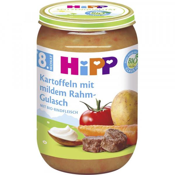 Babynahrung Menü, Kartoffel/Rahm-Gulasch