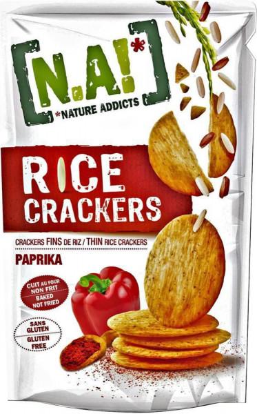 Reis-Cracker, Paprika