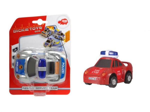 Einsatzfahrzeug, Feuerwehr oder Polizei