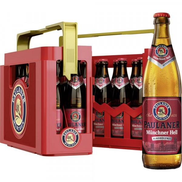 Münchner Hell Bier, alkoholfrei (20 x 0.5 Liter)