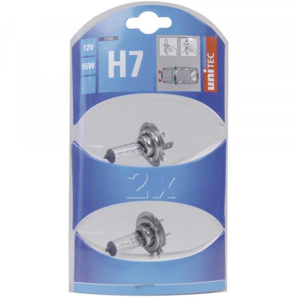 H7 Halogen 12V 55W 2x