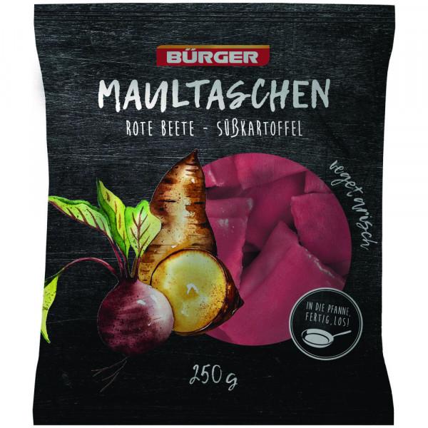 Rote Beete-Süßkartoffel-Maultaschen