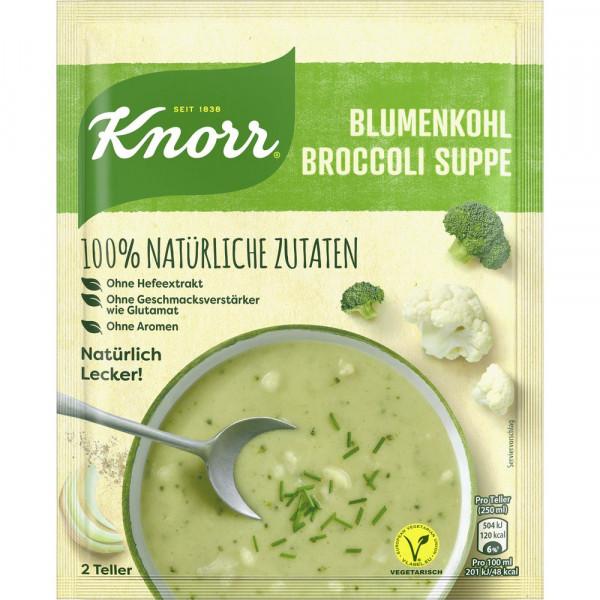 Suppe, Blumenkohl-Broccoli