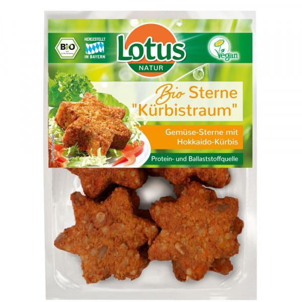 "Bio Gemüsesterne ""Kürbistraum"" mit Hokkaido-Kürbis"