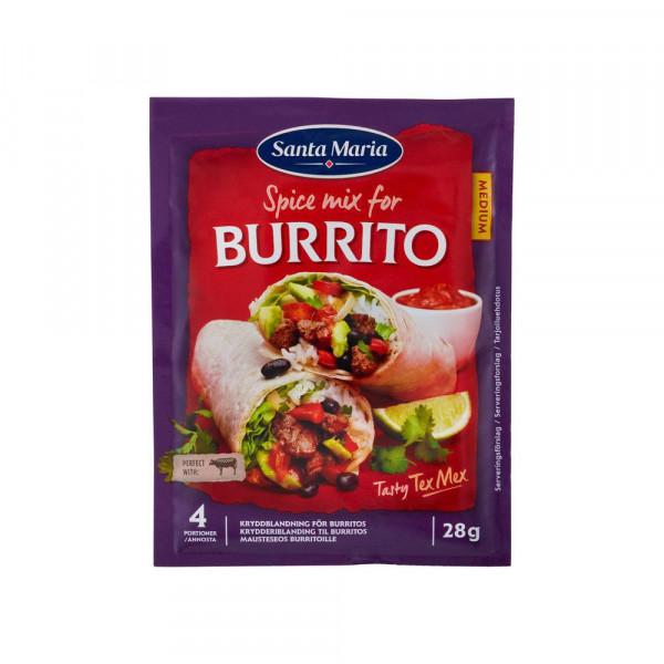Würzmischung Burrito