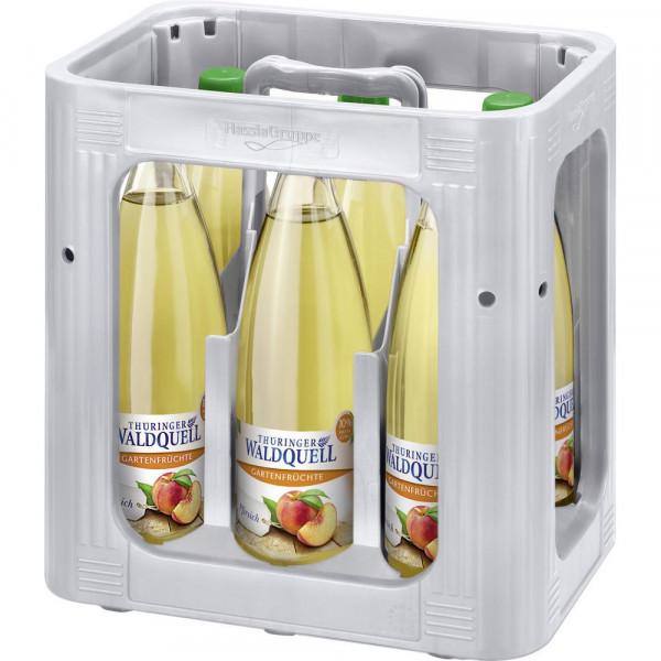 """Mineralwasser mit Kohlensäure """"Gartenfrüchte"""", Pfirsich (6 x 0.75 Liter)"""
