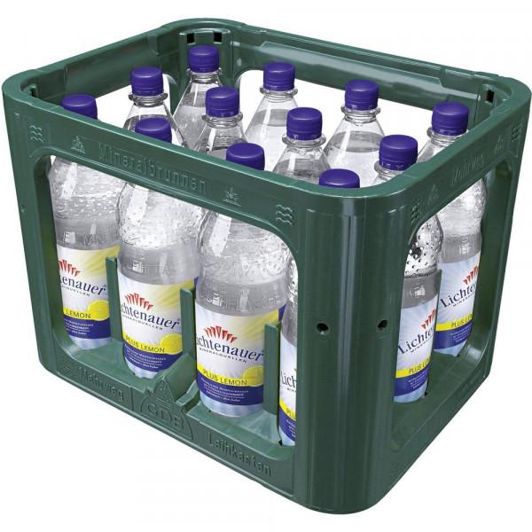 Plus Lemon Natürliches Mineralwasser mit Zitrone (12 x 1 Liter)