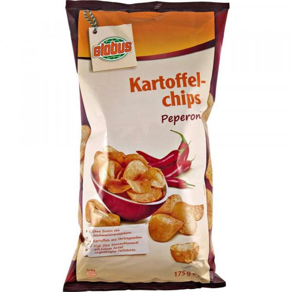 Kartoffelchips, Peperoni
