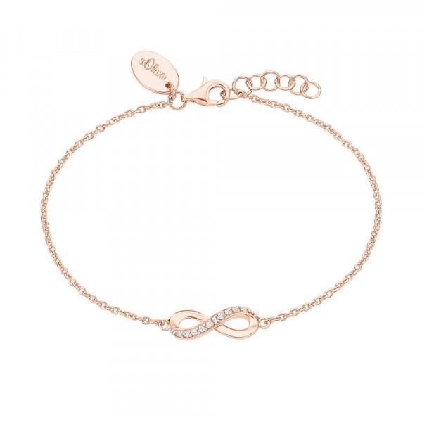 Damen Armband aus Silber 925 mit Zirkonia, vergoldet (4056867025348)