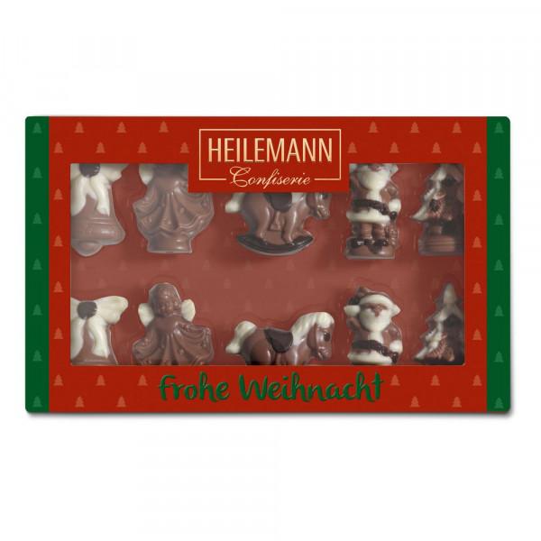Schokoladen-Figuren Weihnachten