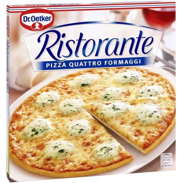 "Pizza ""Ristorante"" Quattro Formaggi, tiefgekühlt"