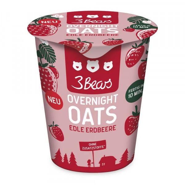 Overnight Oats, Edle Erdbeere