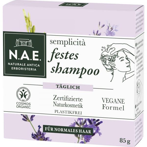 """festes Shampoo """"semplicità"""", normales Haar"""
