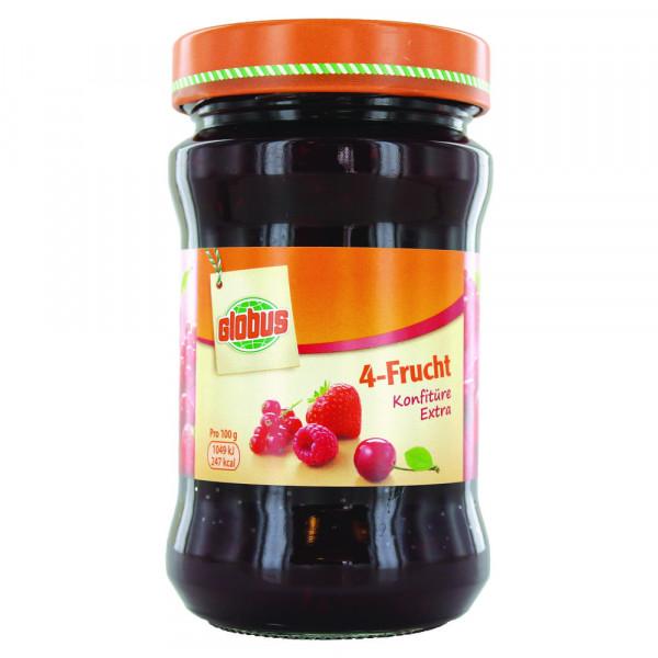 Konfitüre extra, 4-Frucht