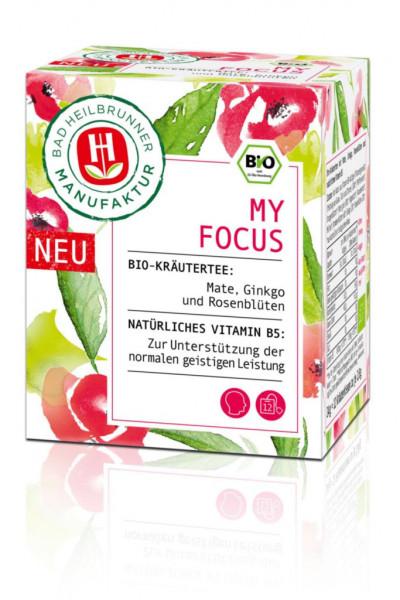 """Bio Kräutertee """"My Focus"""""""