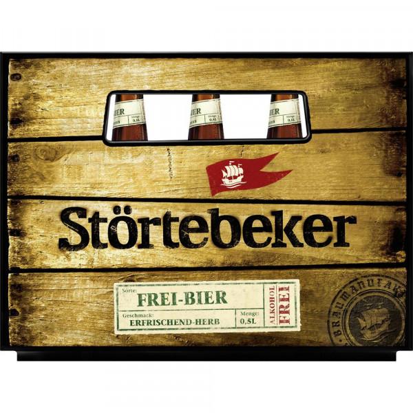 Frei-Bier Bio, alkoholfreies Bier, 0,5L (20 x 0.5 Liter)