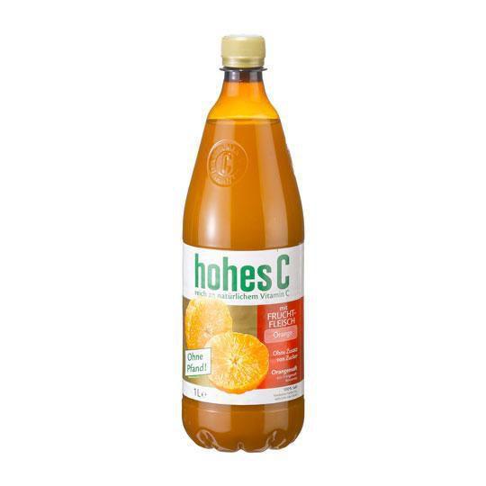 Orangensaft mit Fruchtfleisch (150 x 1 Liter)