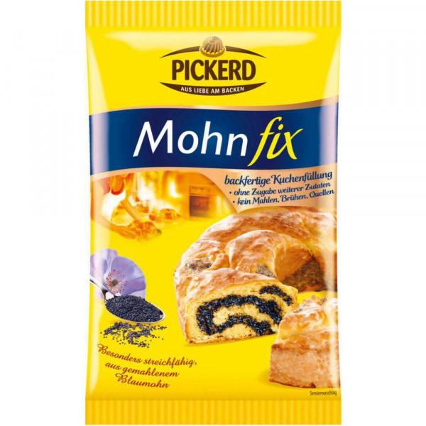 Kuchendekor, Mohn-Fix