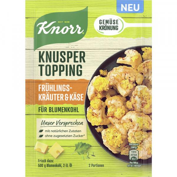 Knusper Topping Frühlingskräuter & Käse