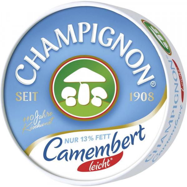 Champignon Camembert, leicht