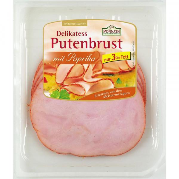 Delikatess Putenbrust, Paprika