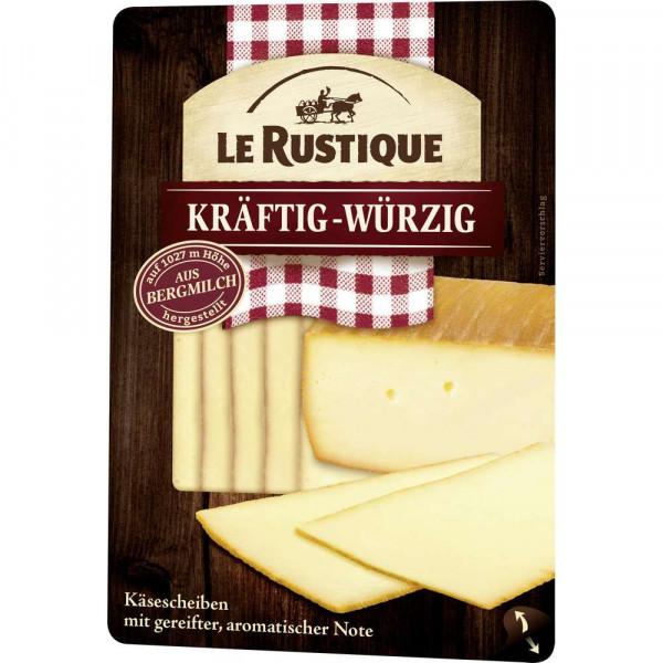 Käse Scheiben, kräftig-würzig
