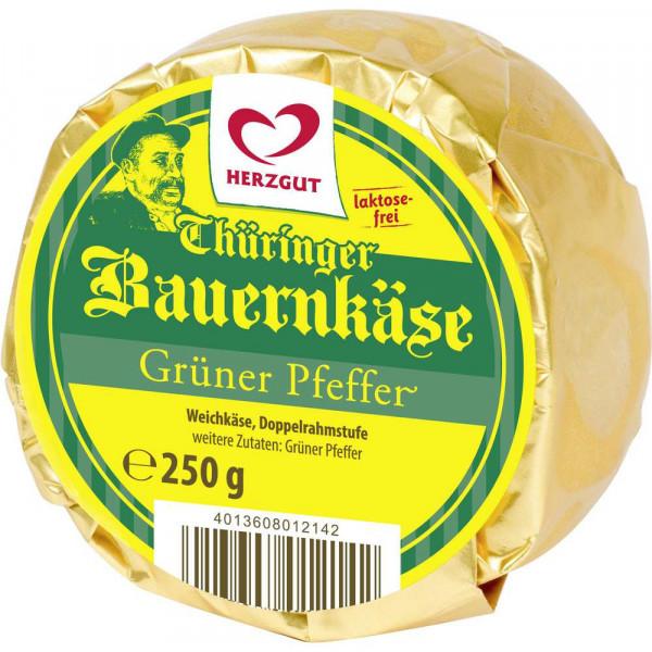 "Weichkäse ""Thüringer Bauernkäse"", Pfeffer"